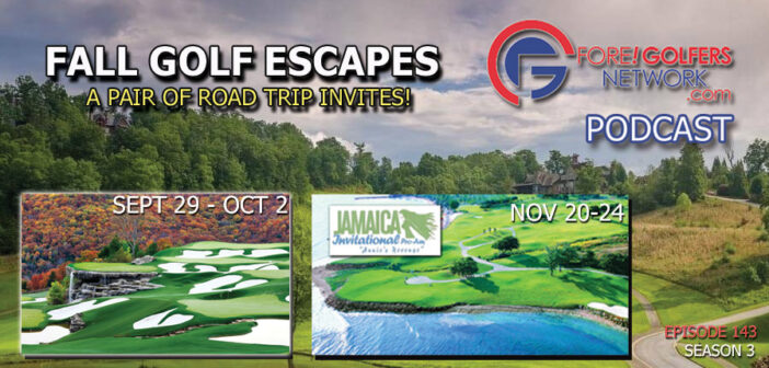 Two Great Fall Golf Escapes For You!