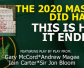 The 2020 Masters DID Happen. Here Is How It Went