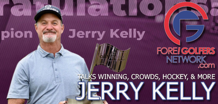 Jerry Kelly Talks Winning, Hockey, Crowds And More